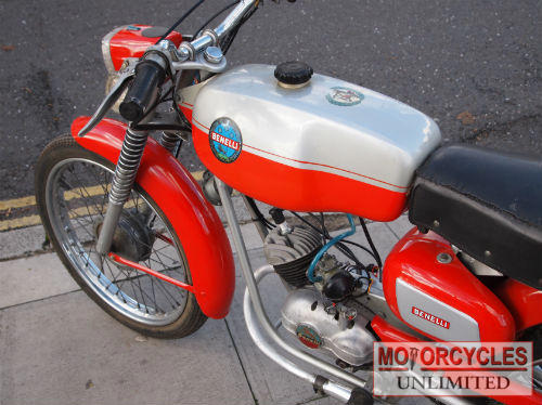 1967 Benelli Sorts 50cc Classic Moped Fresh From Sereno In