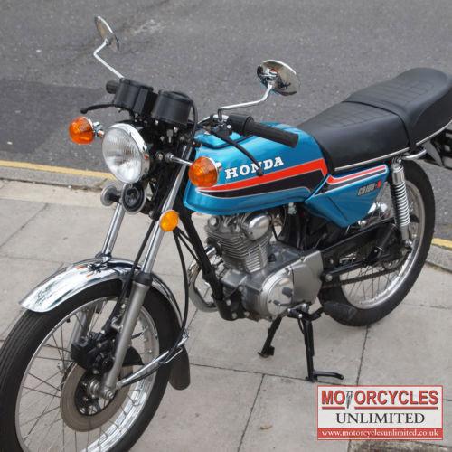1980 Honda CB100N Classic Honda For Sale