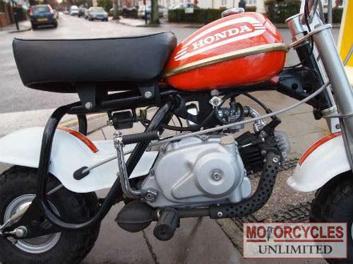 1974 Honda QA50 K2 Monkey bike   Motorcycles Unlimited