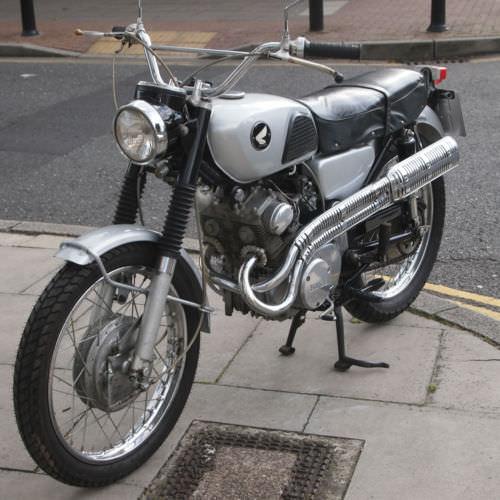 1966 Honda CL160 Vintage Honda For Sale