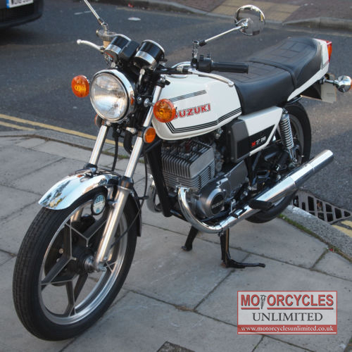 1979 suzuki gt 250 x7 for sale motorcycles unlimited. Black Bedroom Furniture Sets. Home Design Ideas