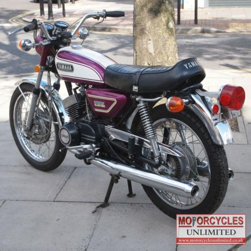 1972 yamaha cs3 200 electric classic yamaha for sale for Electric yamaha motorcycle