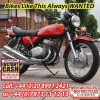 Kawasaki S2 350 Triples Wanted, Similar Classic Japanese Motorcycles Wanted