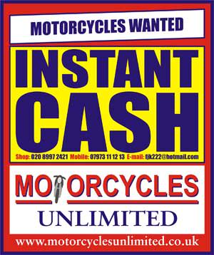 Instant  Cash for Your Motorcycle