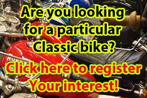 Interested in a Classic Motorcycle