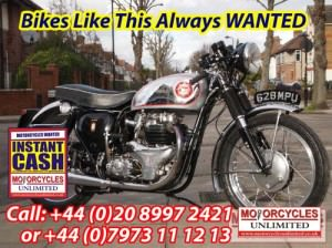 BSA Rocket Gold Star WANTED