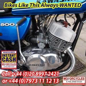 Kawasaki H1 F 500 classic Kawasakis wanted