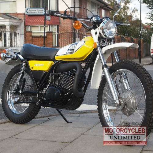 1975 yamaha dt400 b classic enduro for sale motorcycles for Vintage motor cycles for sale