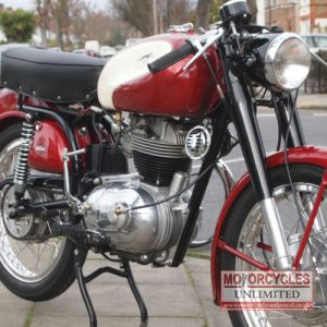 1957 Parilla 175 Lusso Classic Italian Bike for Sale