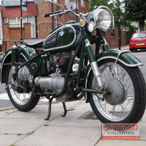 1960 BMW R26 250cc Classic BMW For Sale