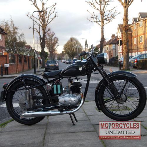1954 Ifa Rt125  1 Mz Classic Bike For Sale