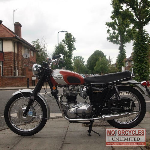 1969 Triumph T120r Bonneville For Sale