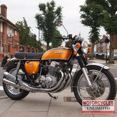1974 Honda Cb750 K2 For Sale