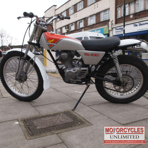 1976 Honda TL125 S Trials Competition Classic Honda for sale   Motorcycles Unlimited