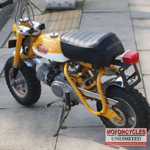 1971 honda z50 a mini trail monkey bike for sale motorcycles unlimited. Black Bedroom Furniture Sets. Home Design Ideas