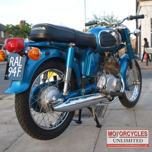 1968 Honda Cd175 Sloper Classic Honda For Sale