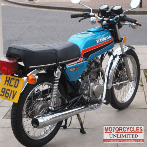 1980 honda cb100n classic honda for sale motorcycles. Black Bedroom Furniture Sets. Home Design Ideas