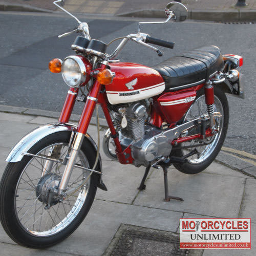 Used Honda Motorcycles >> 1973 Honda CB125S Classic Bike for Sale | Motorcycles ...