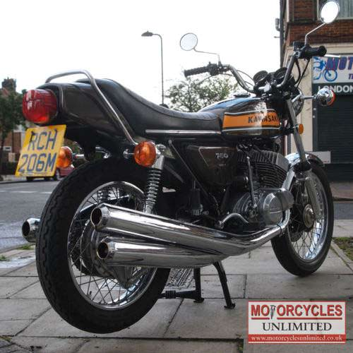 1974 kawasaki h2 750 b classic kawasaki for sale motorcycles unlimited. Black Bedroom Furniture Sets. Home Design Ideas