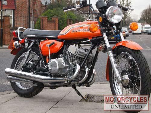 Kawasaki H1 Triple – Idée d'image de moto