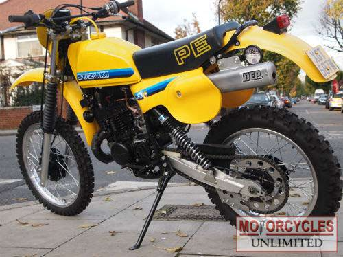 Vintage Suzuki Motocross