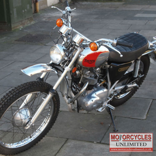 1975 triumph tr5t trophy adventurer classic british for Vintage motor cycles for sale