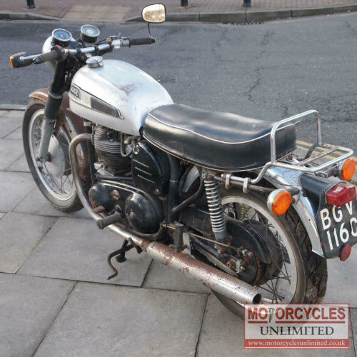 Harleys Sold In The Us Will Still Be Built In The Us: 1965 Norton Atlas 750 Classic For Sale