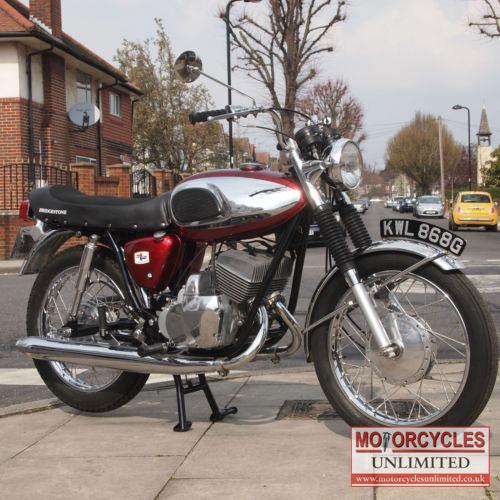 Best Used Motorcycles >> 1968 Bridgestone 350 GTR Classic Japanese Bike for Sale | Motorcycles Unlimited