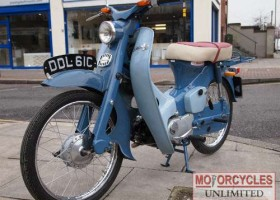 1965 HONDA C100 – £SOLD