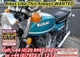 SUZUKI T500 Cobra wanted | SUZUKI T500 Titan wanted