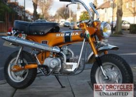 1972 HONDA ST70 Monkey Bike – £SOLD