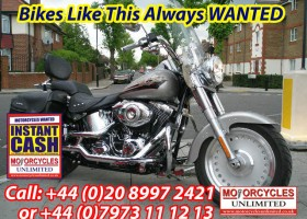 Harleys Wanted | Fat Boy | Heritage |Springer SOFTAILS WANTED