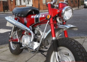 1969 Honda CT70 Classic Monkey Bike for Sale – £SOLD