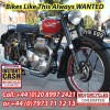 Classic British Motorcycles Wanted