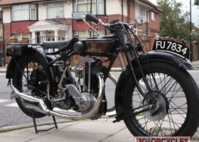 1927 NEW HUDSON 500 Classic Bike for Sale – £SOLD