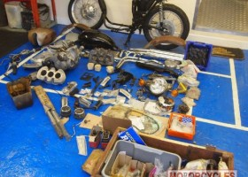 1971 Triumph T150V Classic Project for Sale – £SOLD