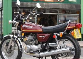 1976 Kawasaki KH500 H1F Triple for Sale – £SOLD