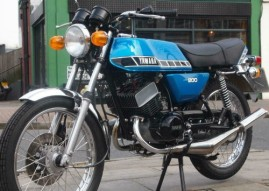 1979 Yamaha RD200 for Sale at MCU