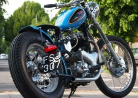 1955 BSA A10 650 Gold Flash Bobber for Sale – £SOLD