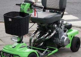 Kawasaki Z1000 Mobility Scooter for Sale