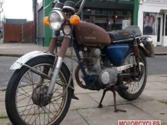 1973 Honda CB125S Project for Sale – £500.00