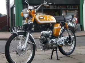 1973 Yamaha SS50 Fs1e Classic Moped for Sale – £10,989.00