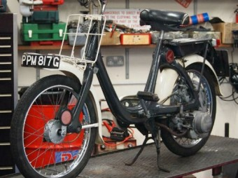 1968 Honda P50 Classic Moped for Sale – £1989.00