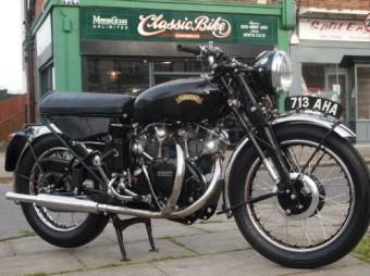 1956 Vincent Black Shadow for Sale – £SOLD