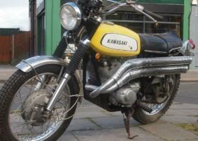 1970 Kawasaki Samurai Project for Sale – £3,333.00