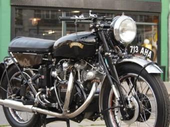 1956 Vincent Black Shadow for Sale