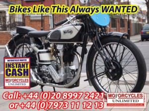 Norton Classic British Bikes Wanted