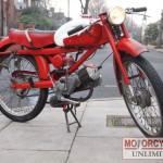 1962 MOTO GUZZI 75cc Cardellino