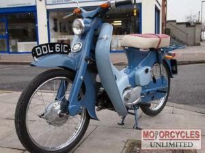 1965 HONDA C100