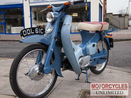 1965 HONDA C100 Classic Old Moped for Sale | Motorcycles